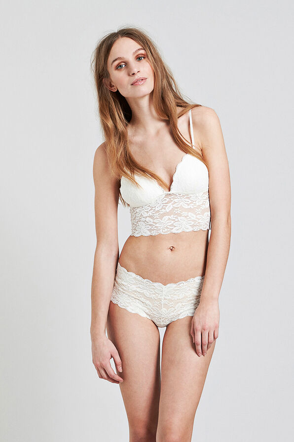 GARBI BRA 5718, CLEAR CREAM