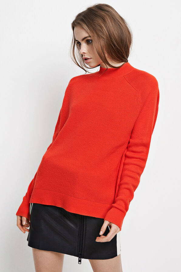 ENNICOLINE KNIT 5531, HOLIDAY RED
