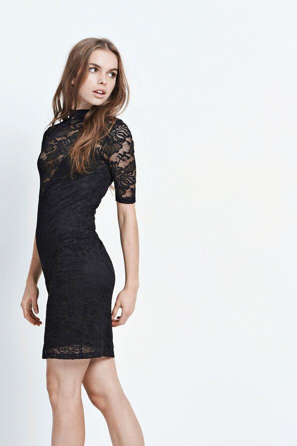 AYMAR SS DRESS 5876, BLACK