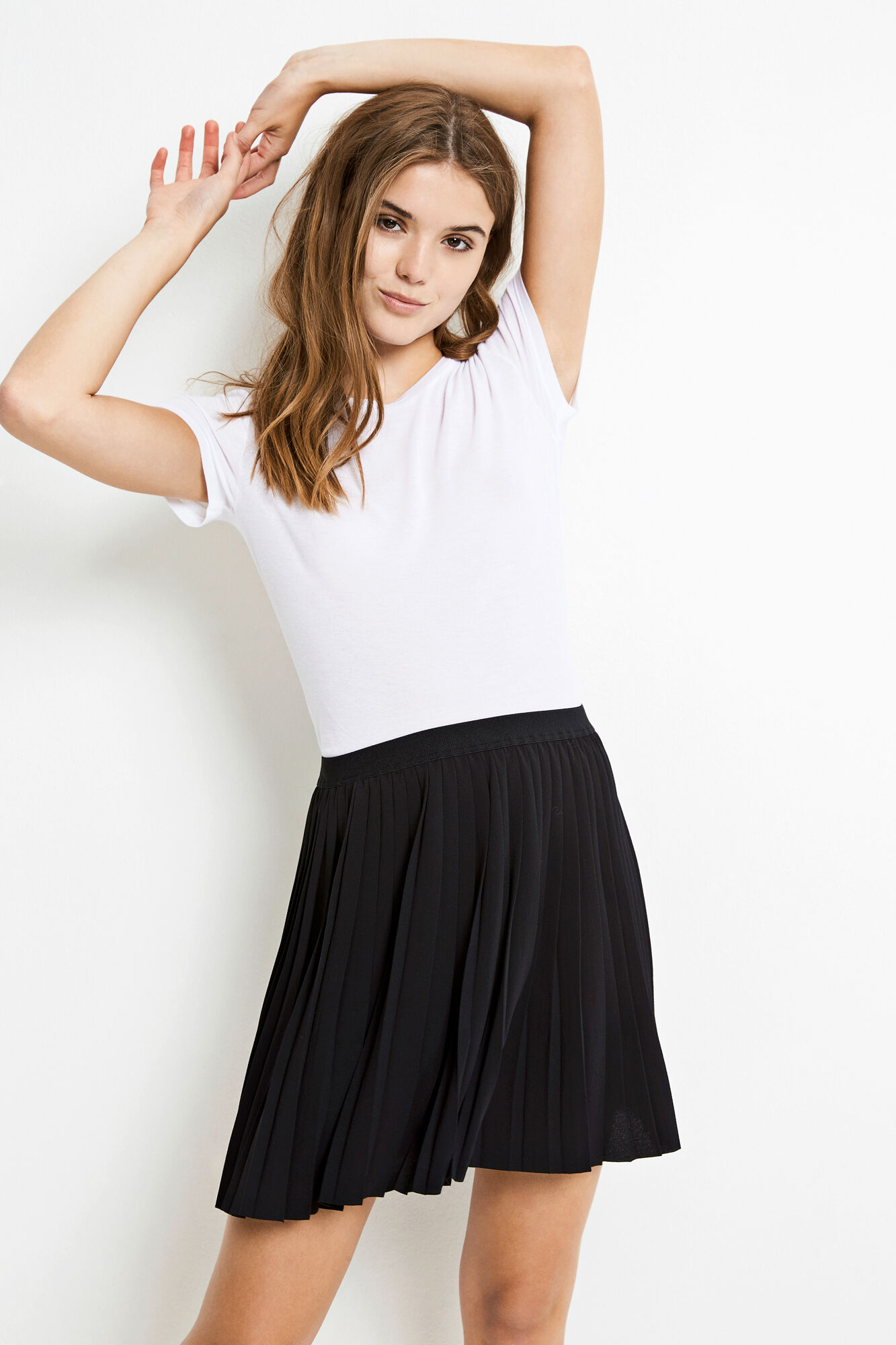 ENMARLISA SKIRT 6462, BLACK