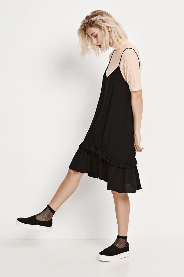 ENRIFLE SL DRESS 6275, BLACK