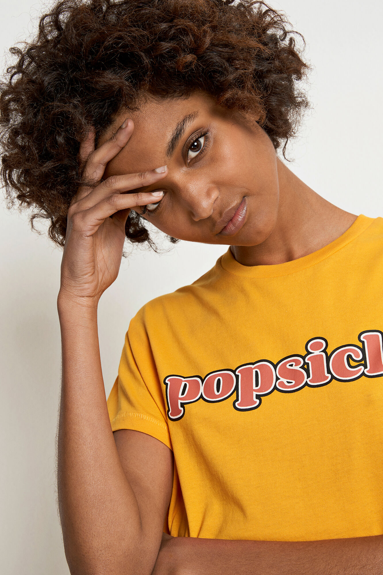ENMOTO SS TEE POPSICLE 5901, RADIENT YELLOW