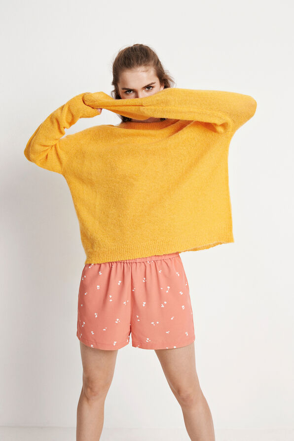 ENCOYOTE LS KNIT 5141, RADIENT YELLOW MEL