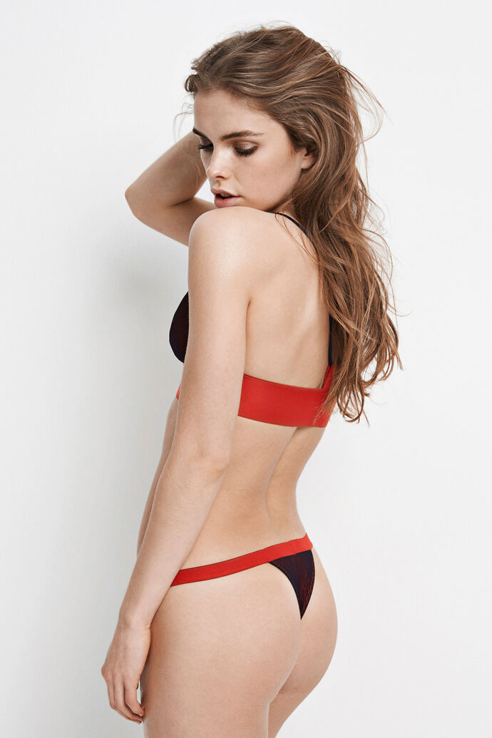 POINT BRA 5455, HOLIDAY RED
