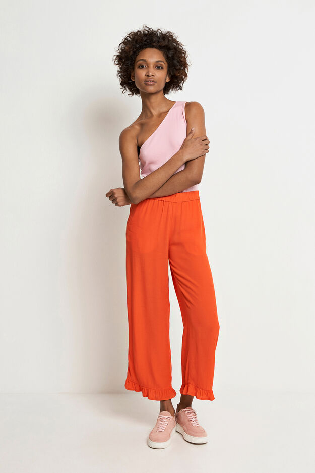 ENALOHA PANTS 6257, MANDARIN RED