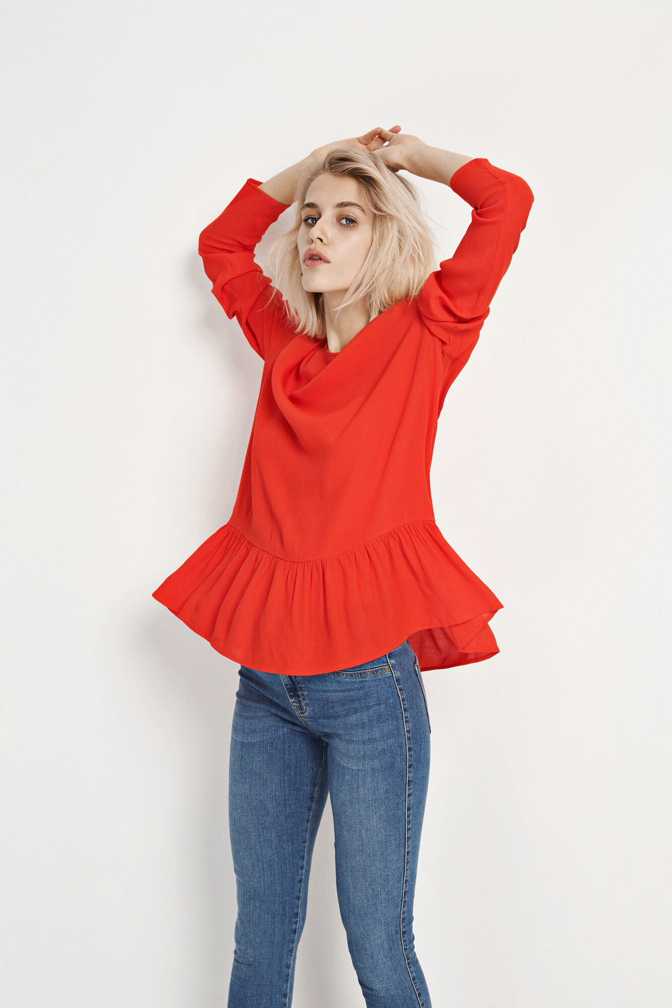 ENOPEYA LS TOP 6257, HOLIDAY RED