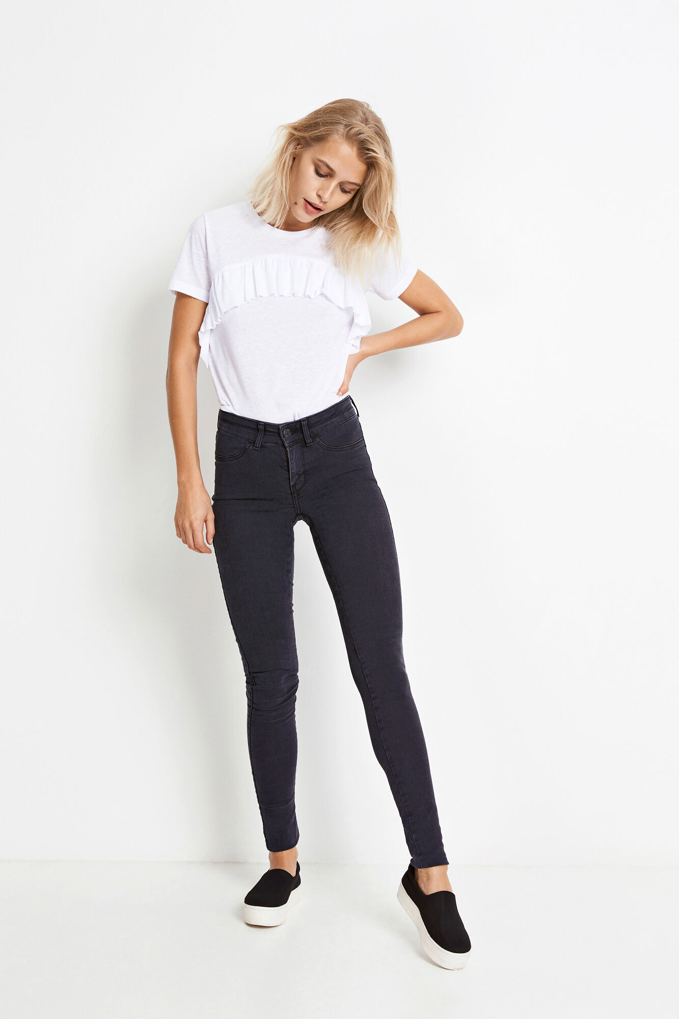 ENBLAIR JEANS WORN BLACK 6292, WORN BLACK