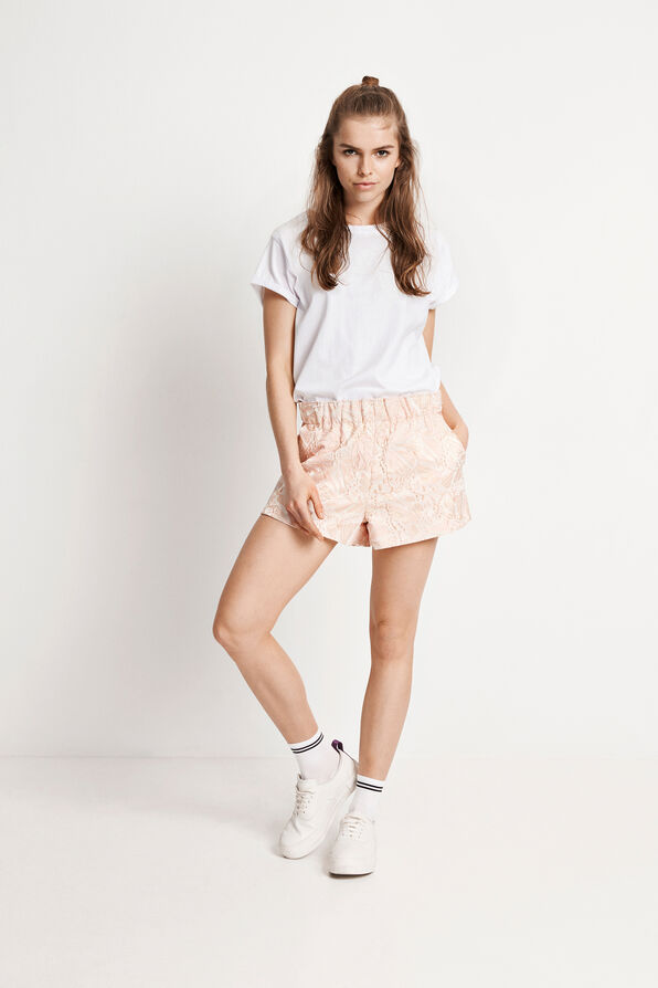 ENDESERT SHORTS 6450, PINK STRUCTURE