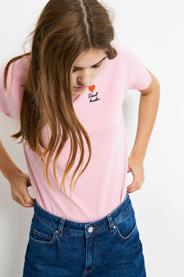 ENMOTO SS TEE HB 5901, CAMEO PINK