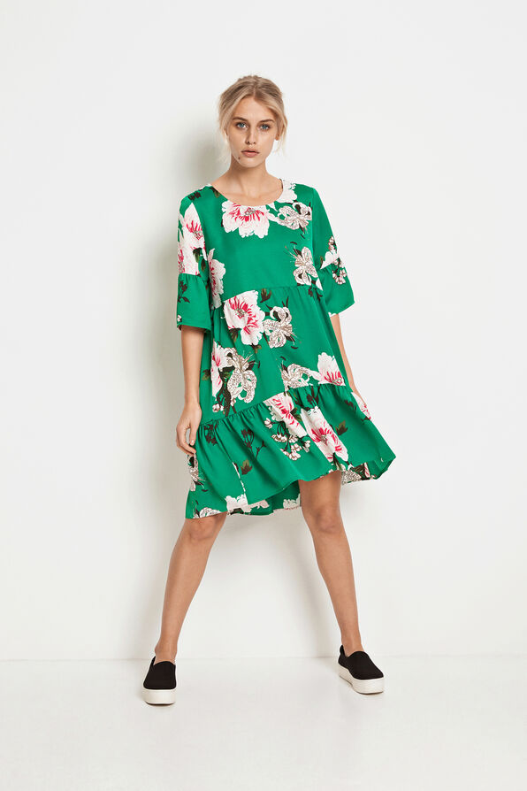 ENMOANA 3/4 DRESS AOP 6468, PUA AOP