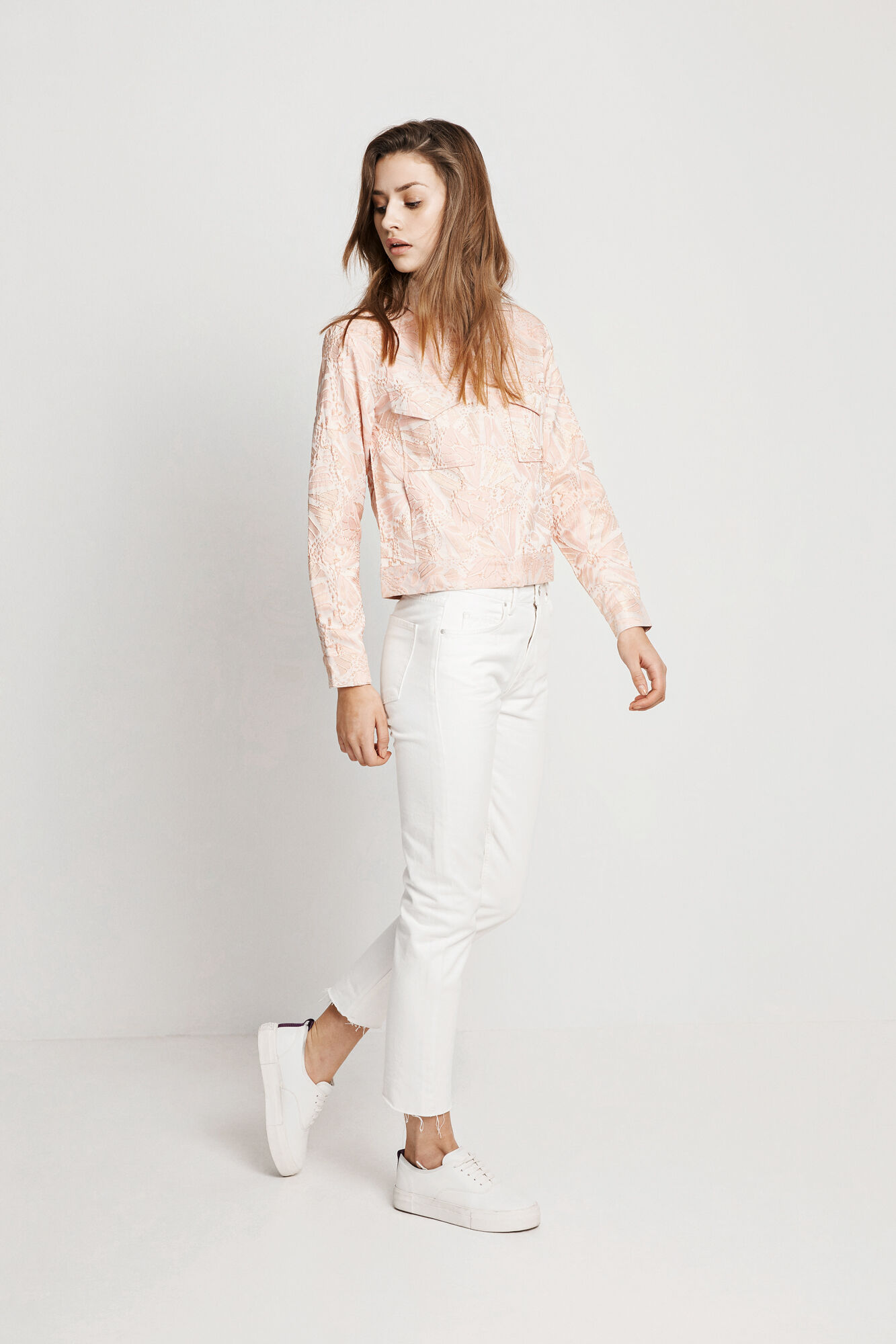 ENDESERT JACKET 6450, PINK STRUCTURE