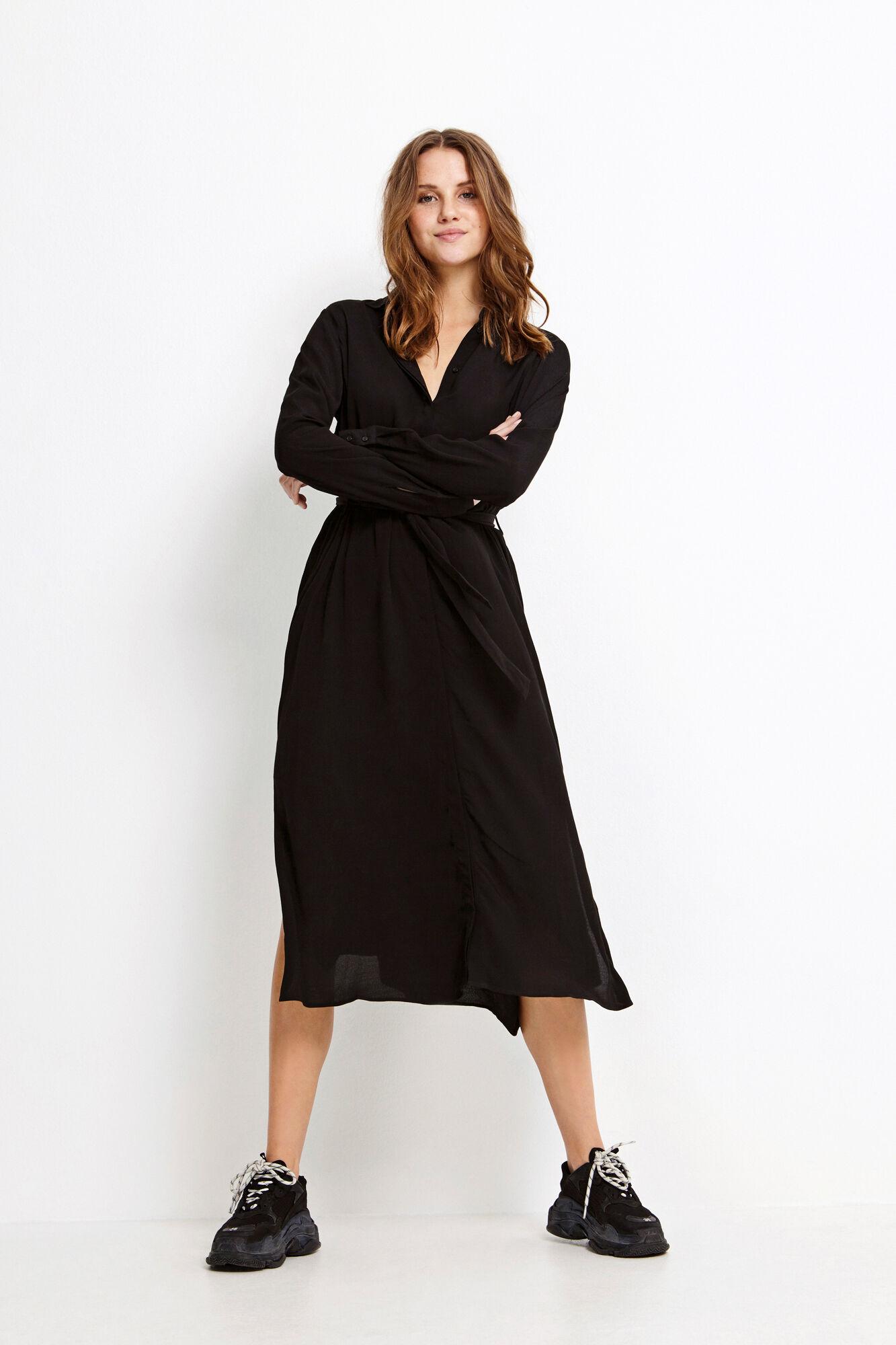 ENDATE LS DRESS 6257