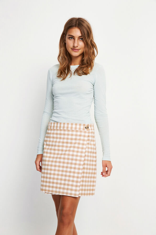 ENATWOOD SKIRT 6600, SAND CHECK