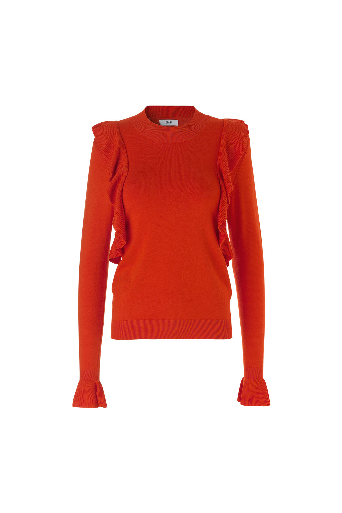 ENHARZEN LS KNIT 5163, ORANGE.COM