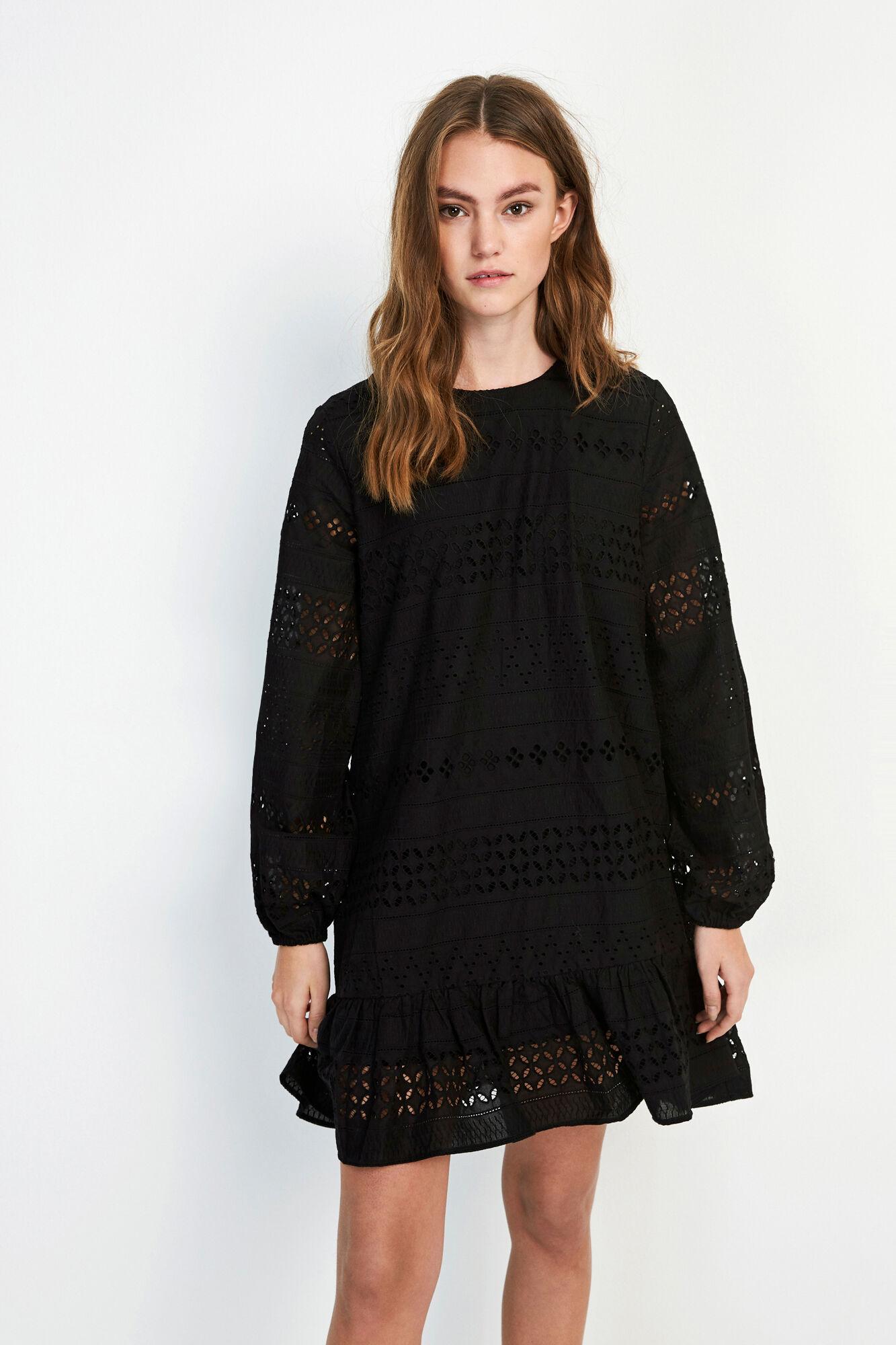 ENCHRIS O-NECK DRESS 6695