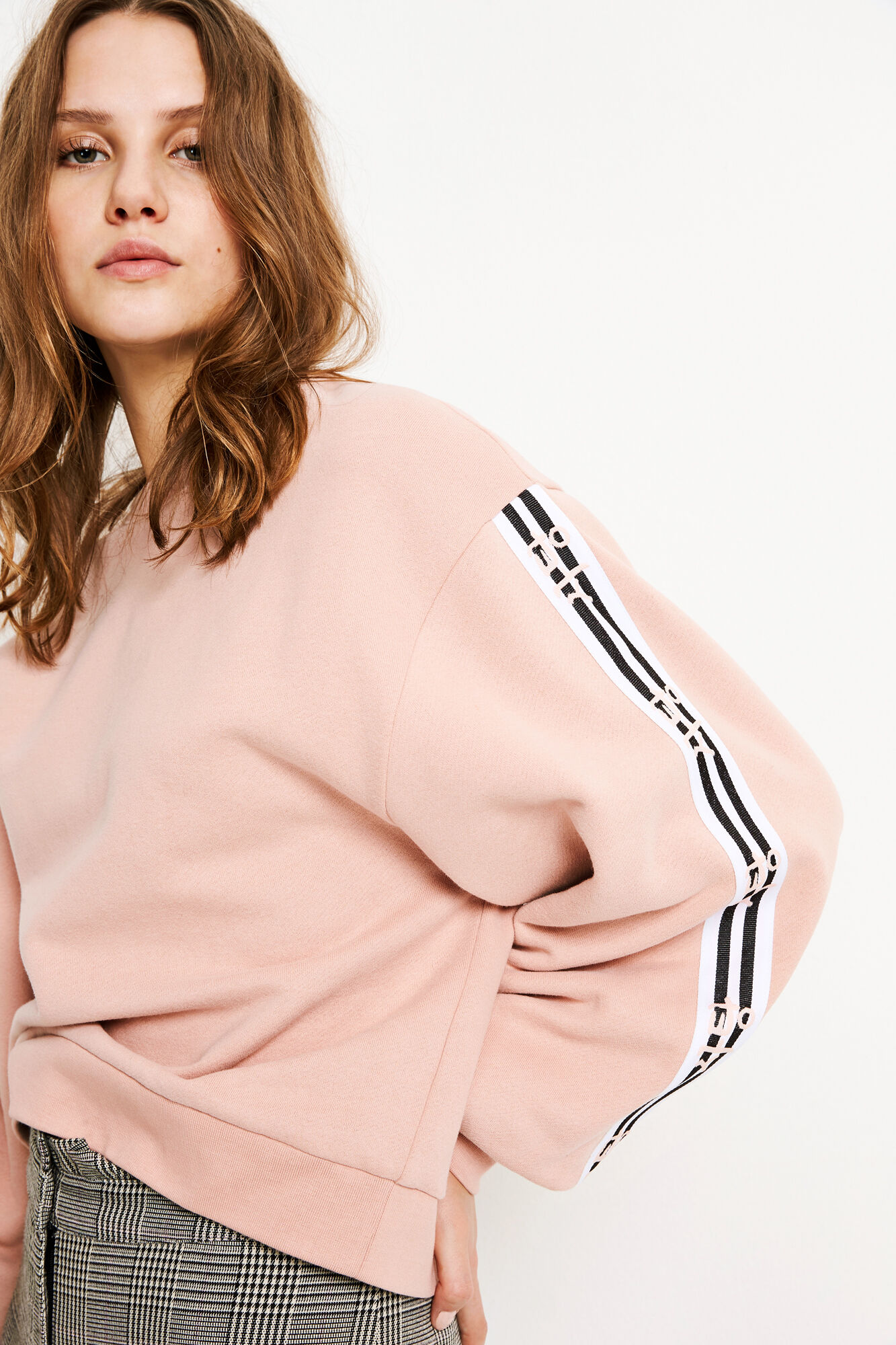ENCHEWY LS SWEAT 5899, BEIGE BLUSH