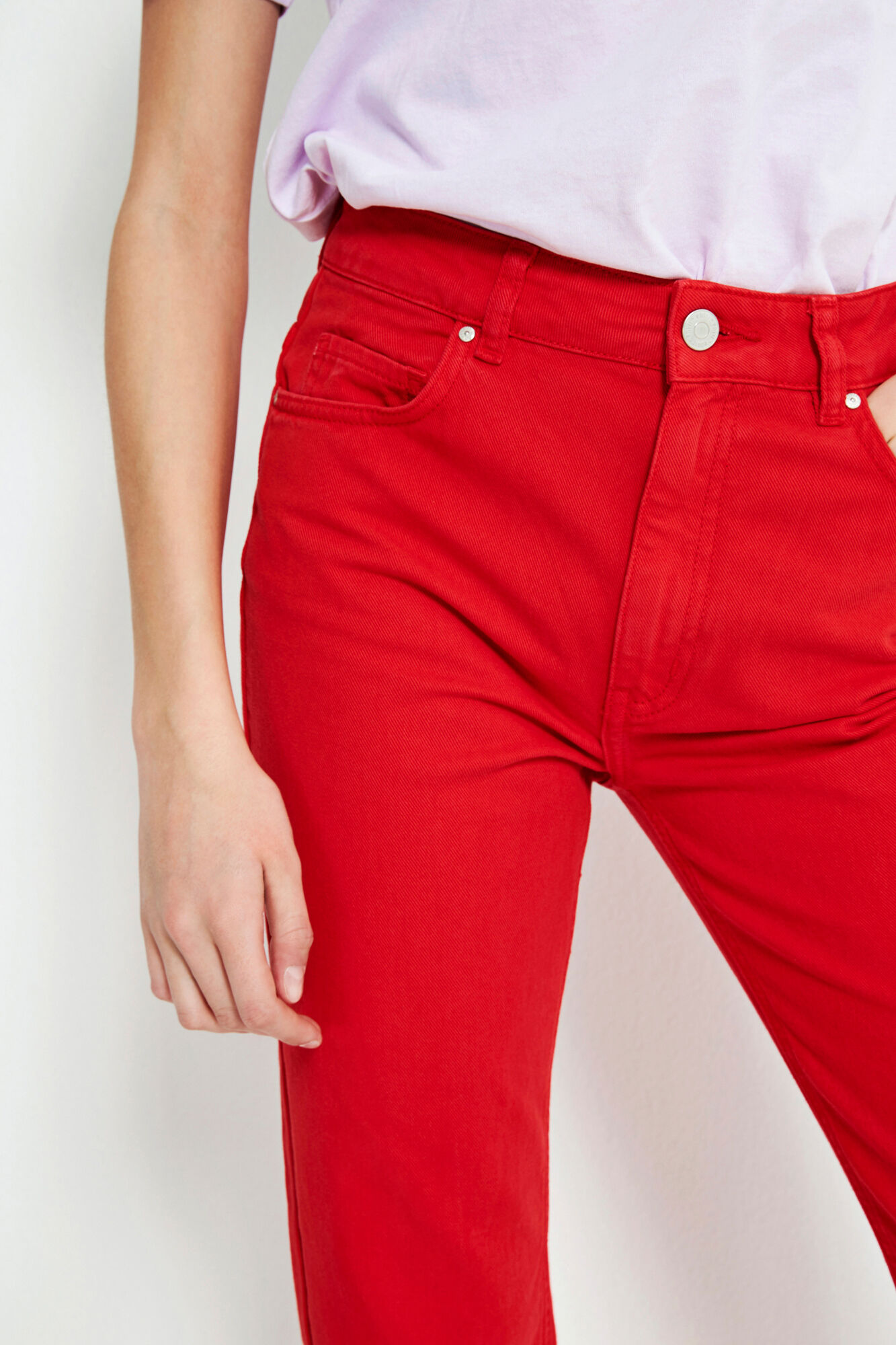 ENBRENDA JEANS CUT 6522, CANDY RED