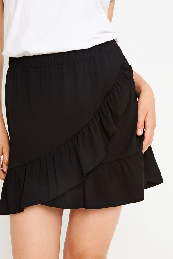 ENLIZARD SKIRT 5890, BLACK