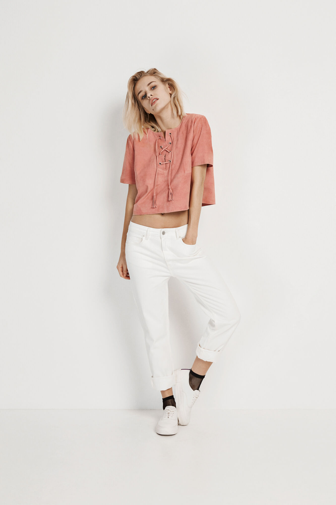 ENRODEO SS SUEDE TOP 6335