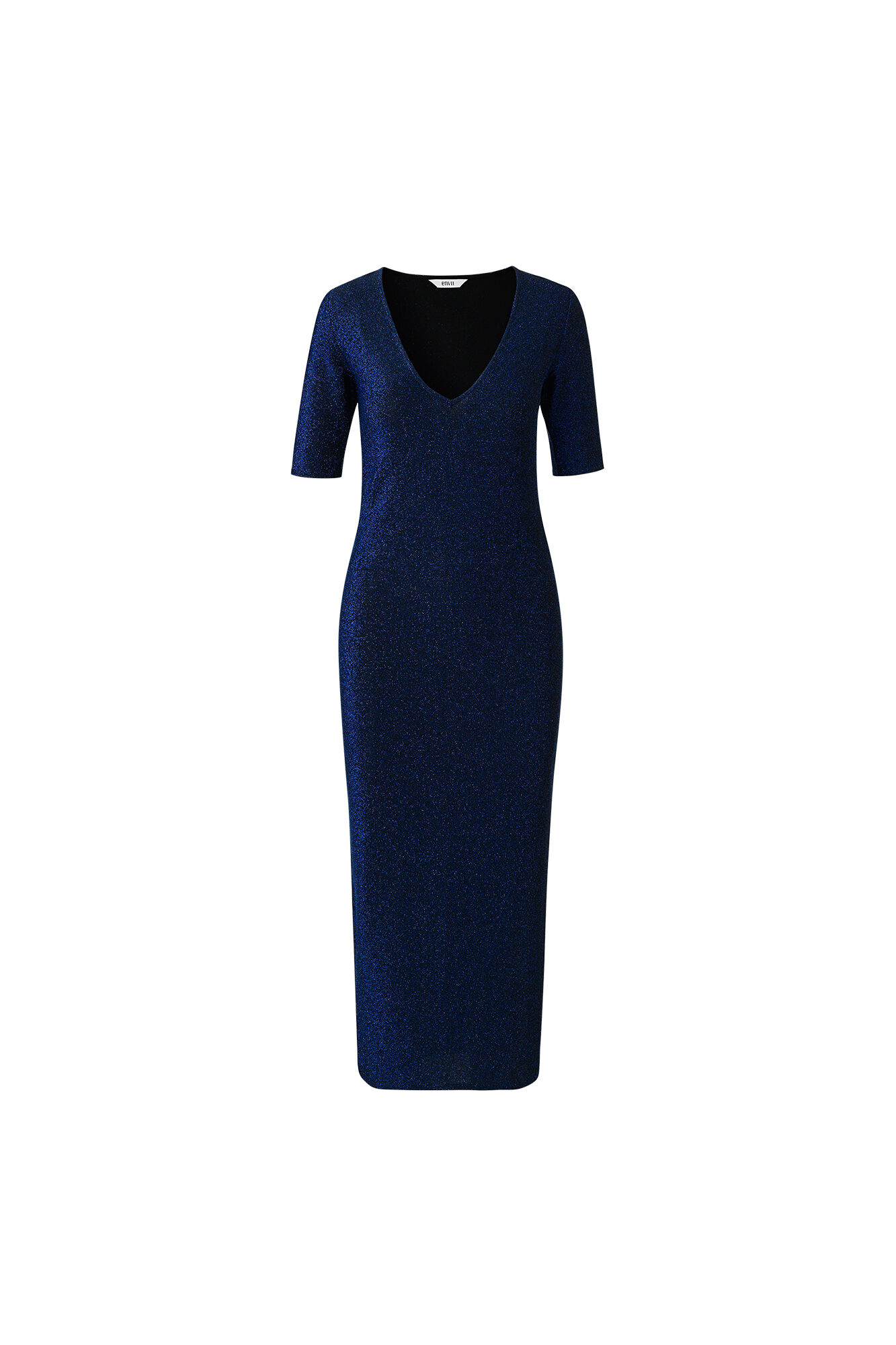 ENCLASS SS DRESS 5933, NAVY GLITTER