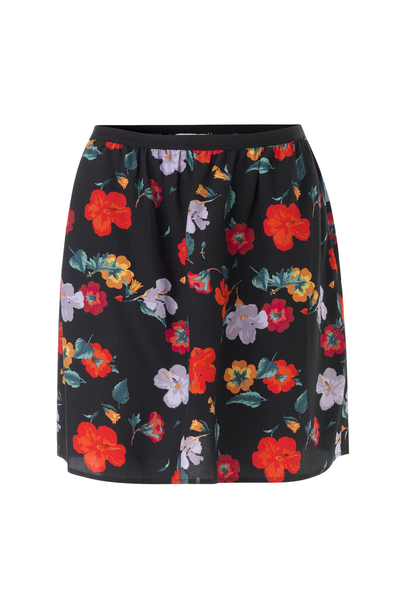 ENPOLAR SKIRT AOP 6486, FLOWER FIELD AOP