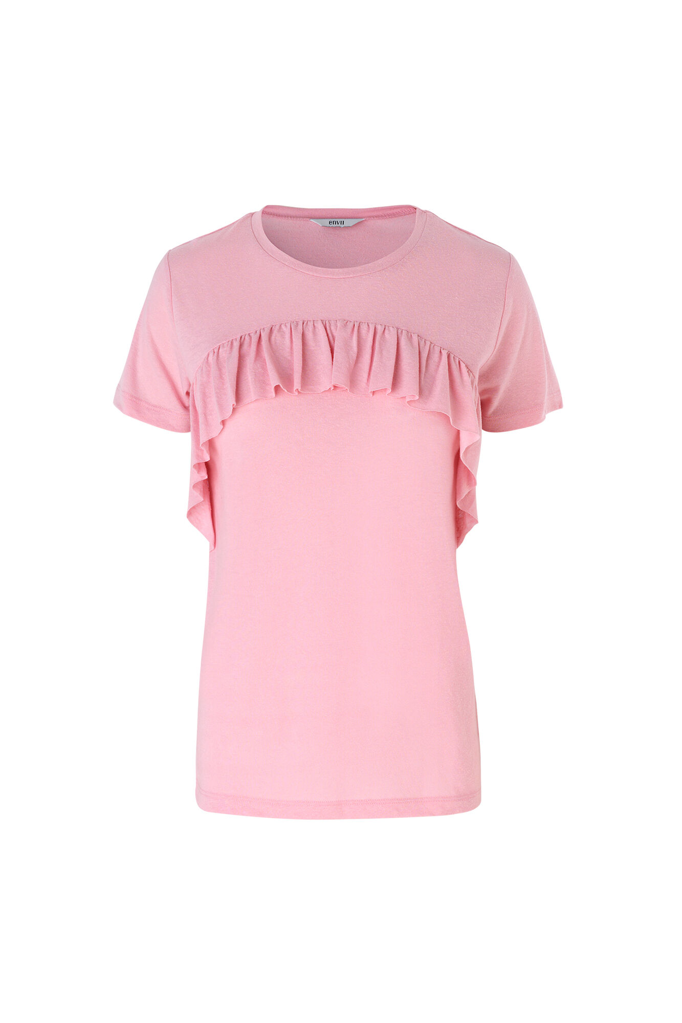 ENVARLA SS TEE 5908, CAMEO PINK