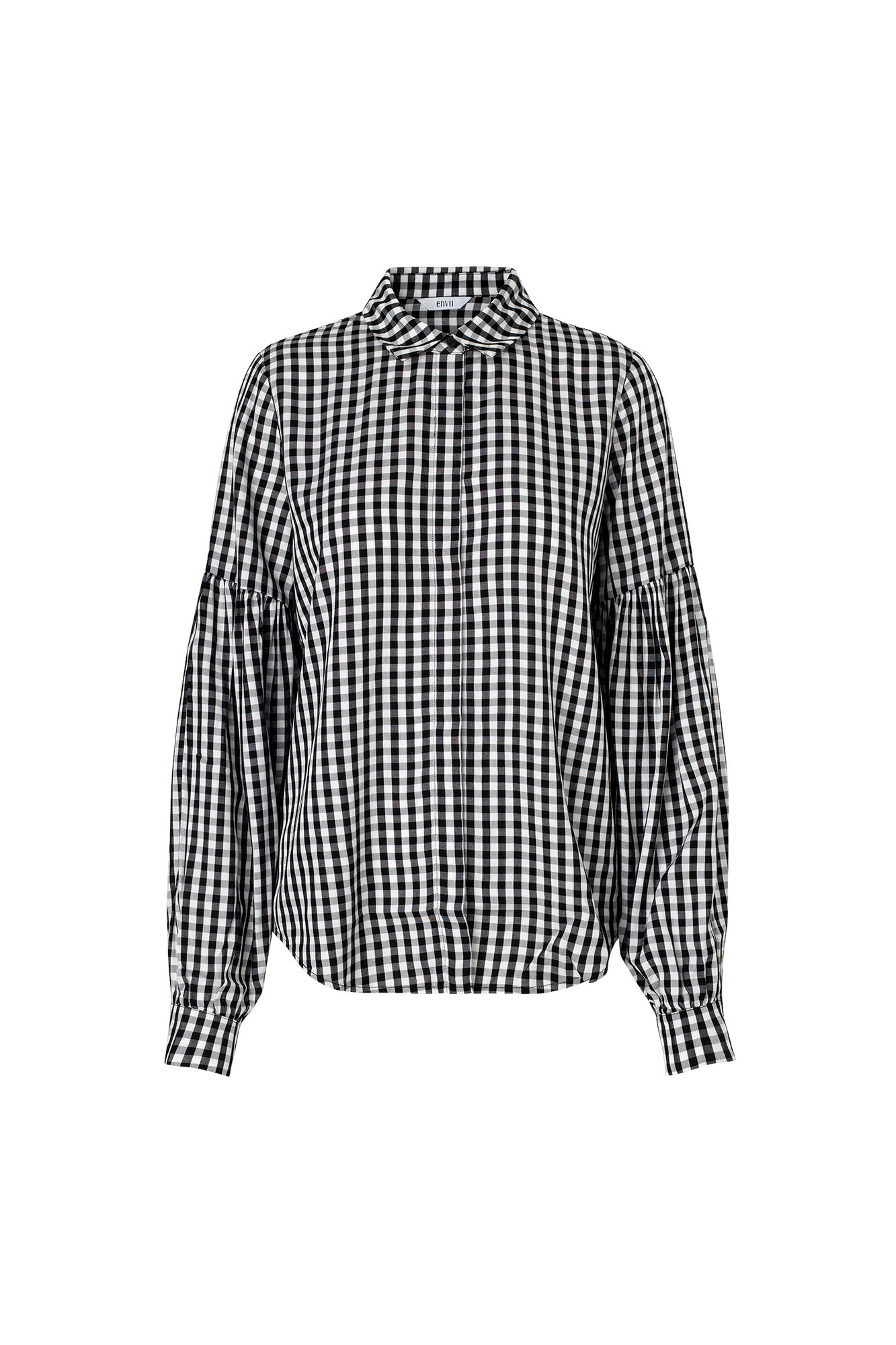 ENDORM LS SHIRT 6473, GINGHAM CHECK