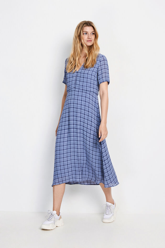 ENSOHO SS DRESS AOP 6622
