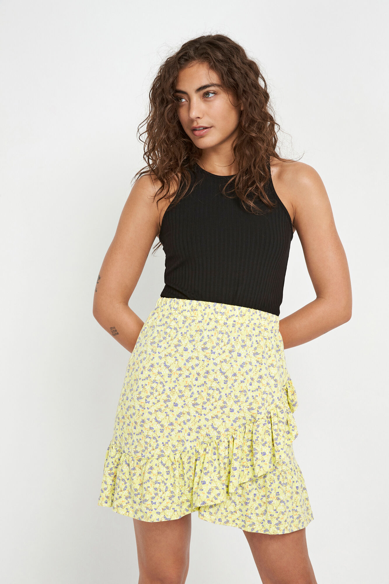 ENLIZARD SKIRT AOP 5329