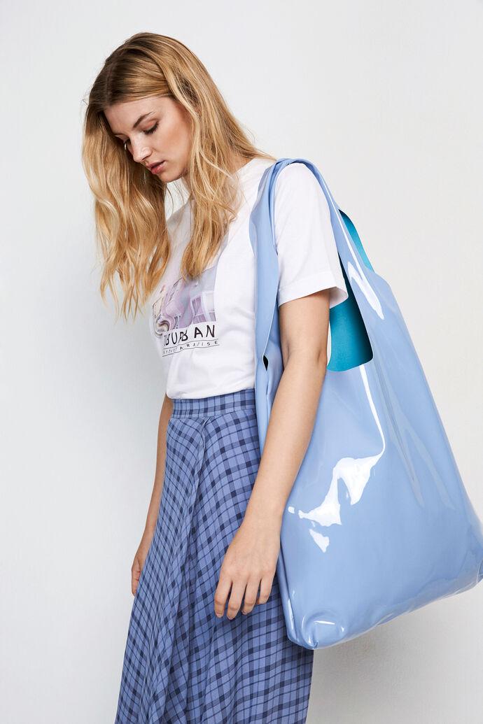 ENHYDE TOTE BAG 5630, GLOOM BLUE