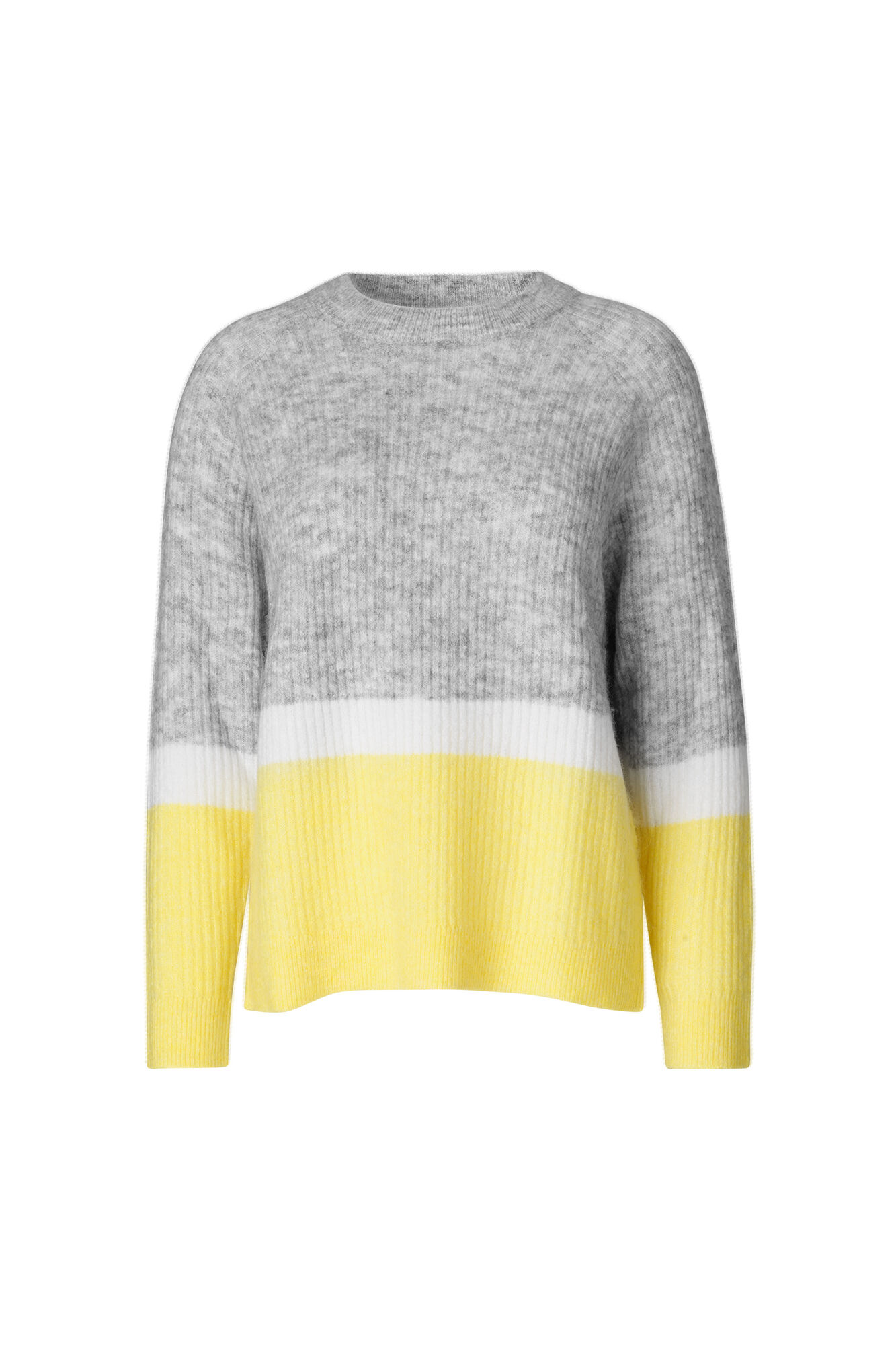 ENBOBO KNIT TB BLOCK 5132, LGM/YELLOW CREAM