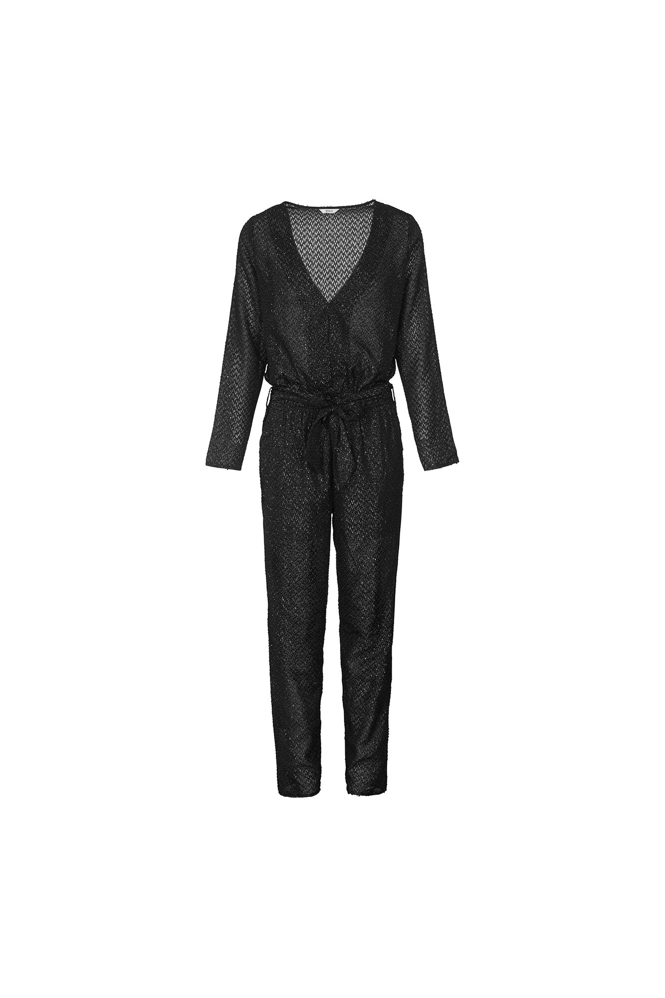 COURT JUMPSUIT 6413, BLACK