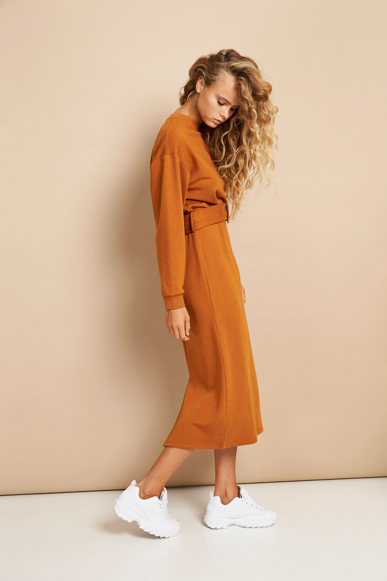 ENSKYLINE LS DRESS 5984