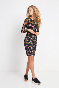 ENSATURN LS DRESS AOP 5937