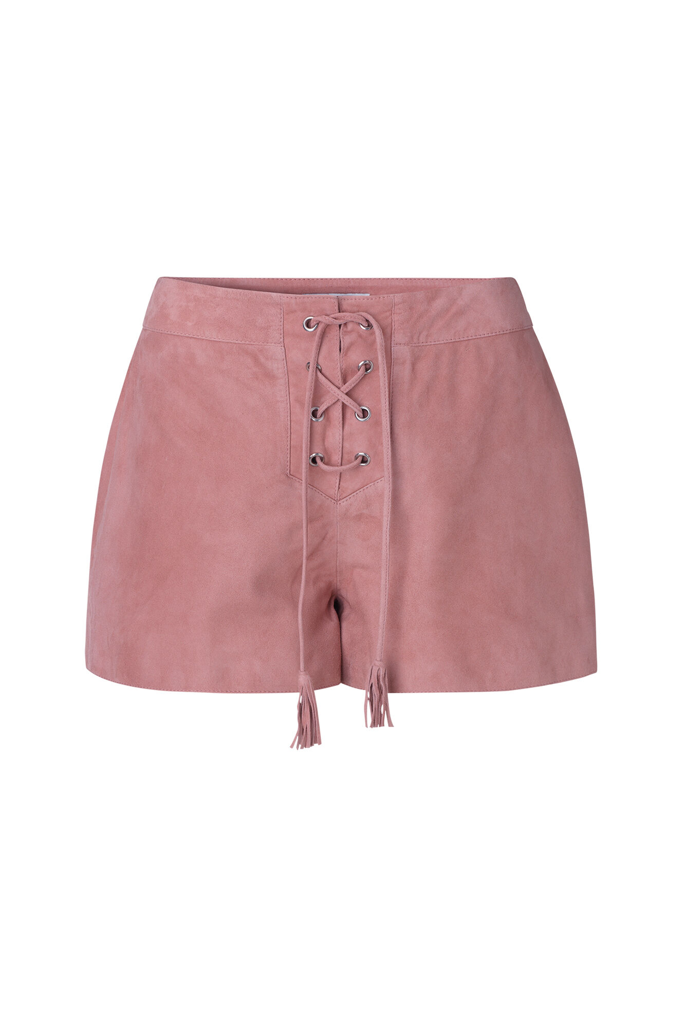 ENRODEO SUEDE SHORTS 6335, ROSEMARY LIP