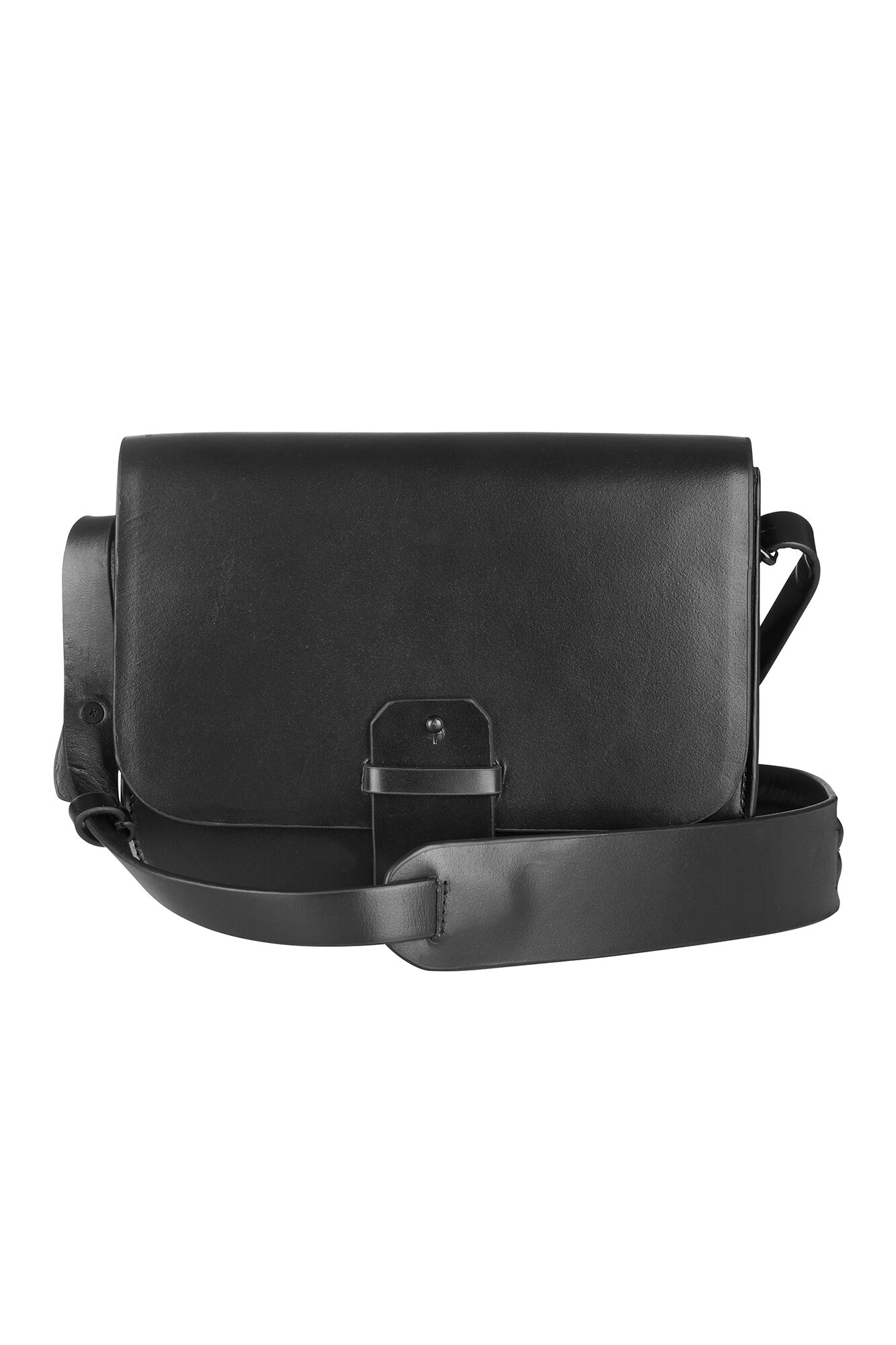 WAYLON LEATHER BAG 5604, BLACK
