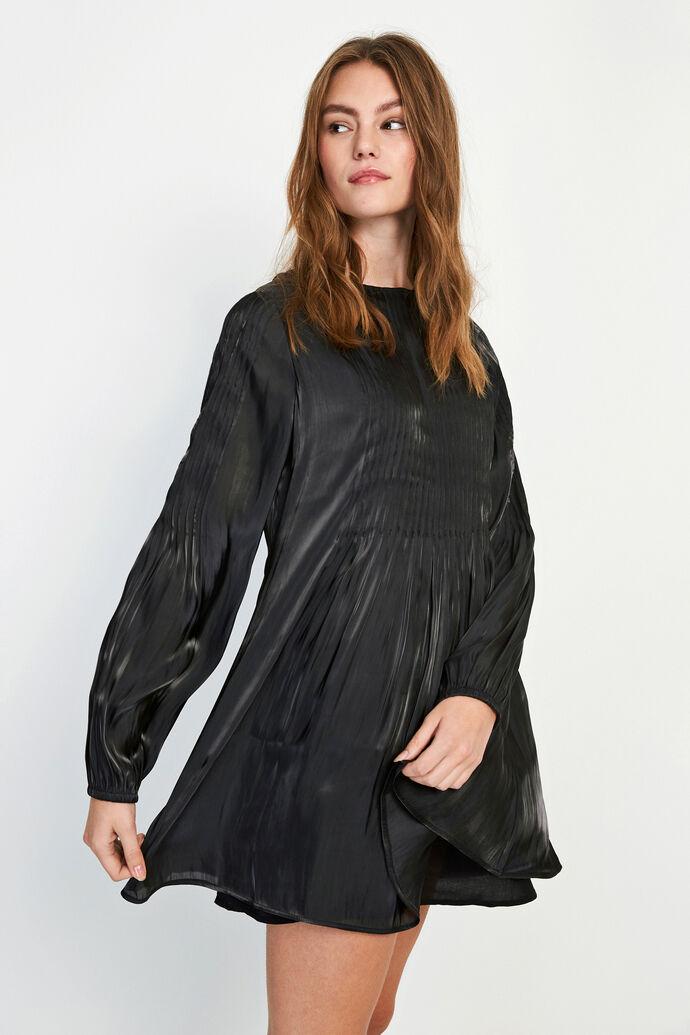 ENOPAL LS DRESS 6686, SHINY BLACK