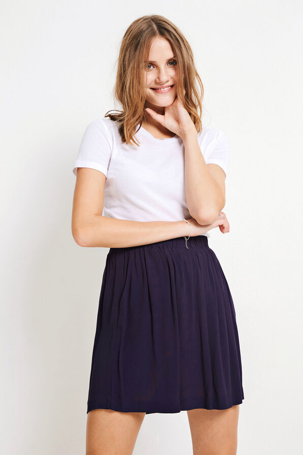 ENJUSTICE SKIRT 6257, NEW NAVY