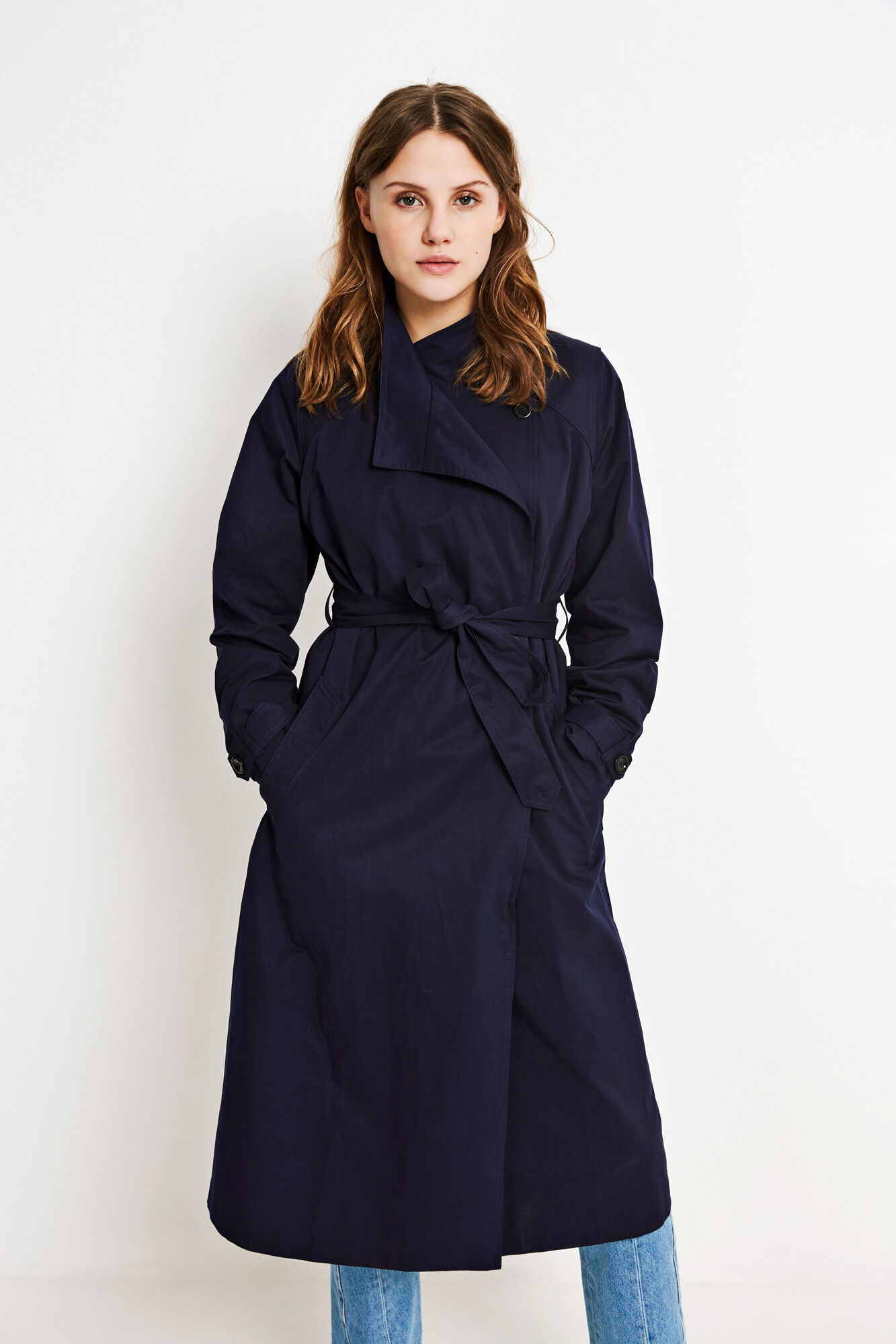 ENCREPE JACKET 6511, NEW NAVY