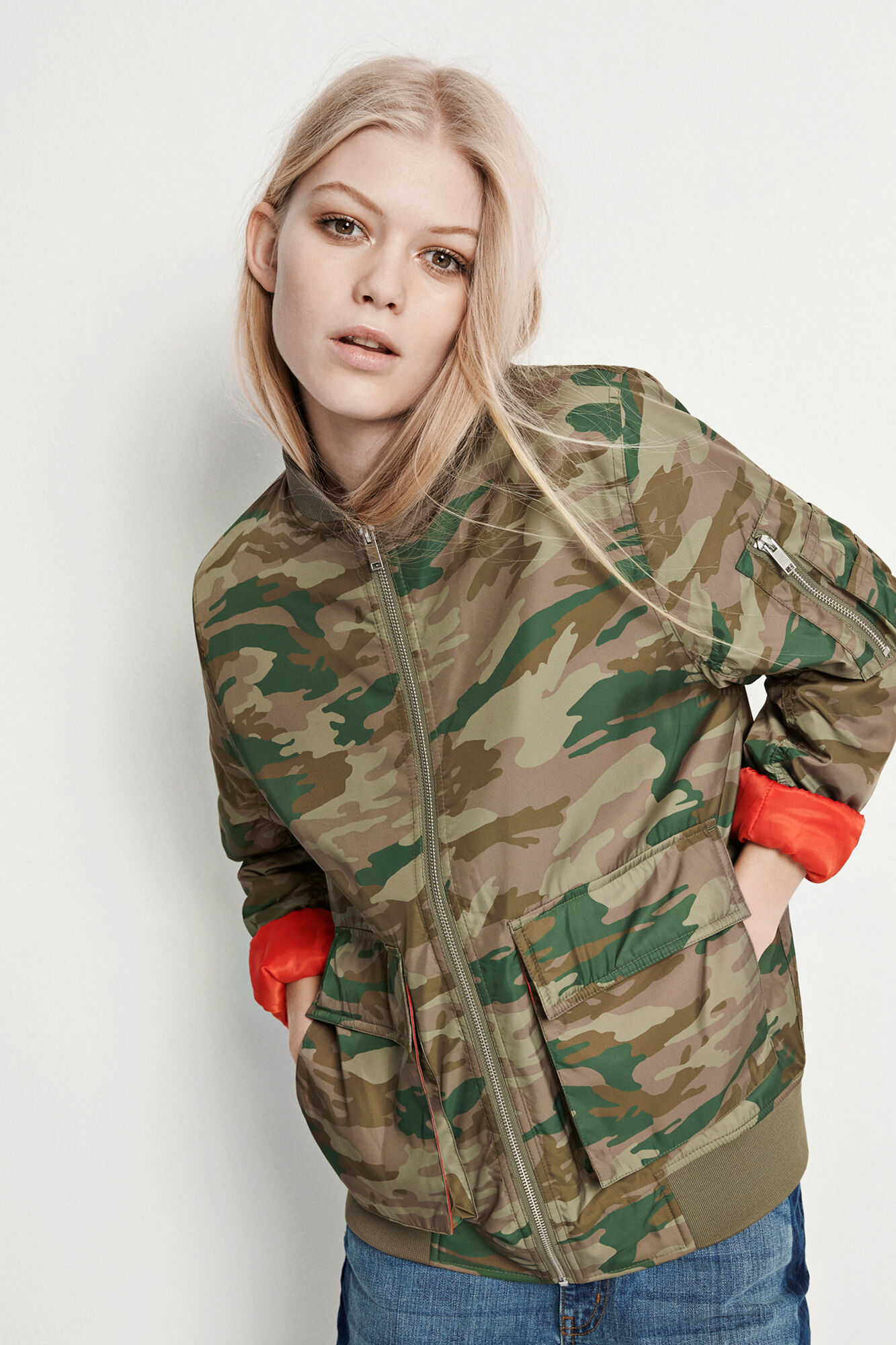 PITCH JACKET AOP 6300, ARMY AOP