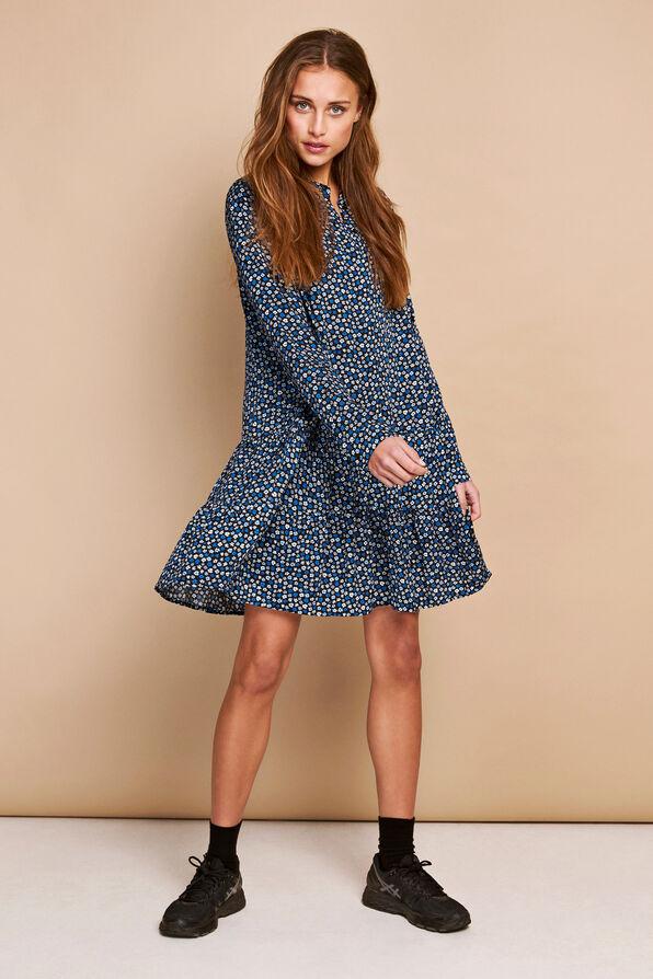 ENMAGIC LS SHORT DRESS AOP 6614