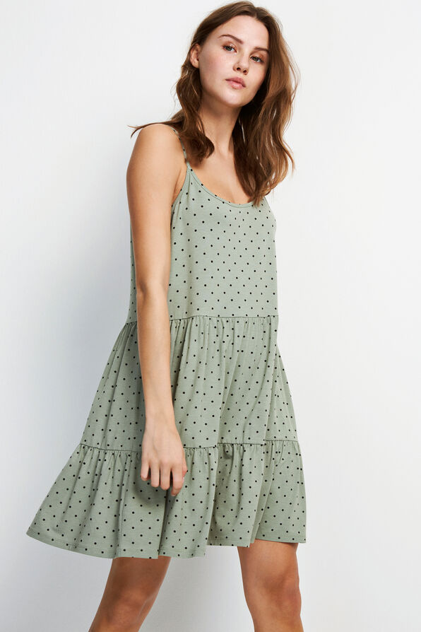 ENMUSIC SL DRESS AOP 5890, ICEBERG DOT