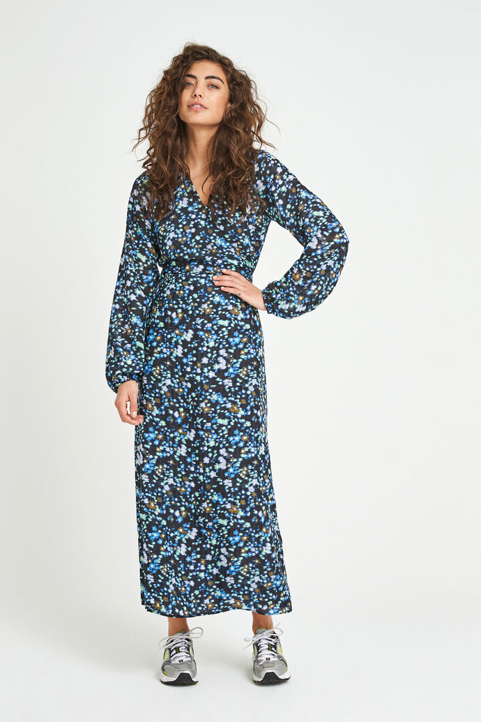 ENSANDRINE LS DRESS AOP 6716, SPRAY CAN FLEUR