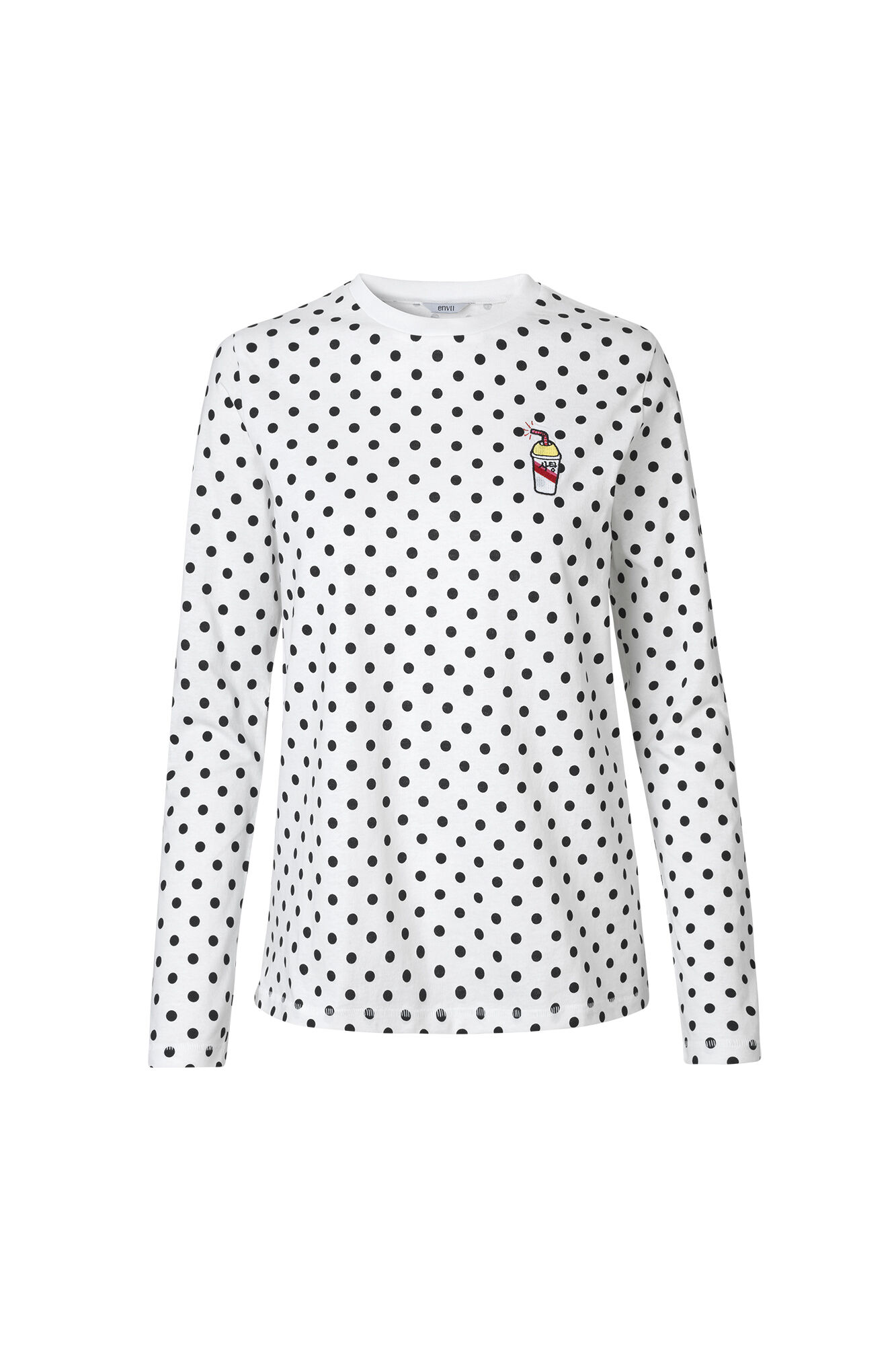 ENMOTO LS TEE AOP SHAKE 5901, WHITE DOT BIG
