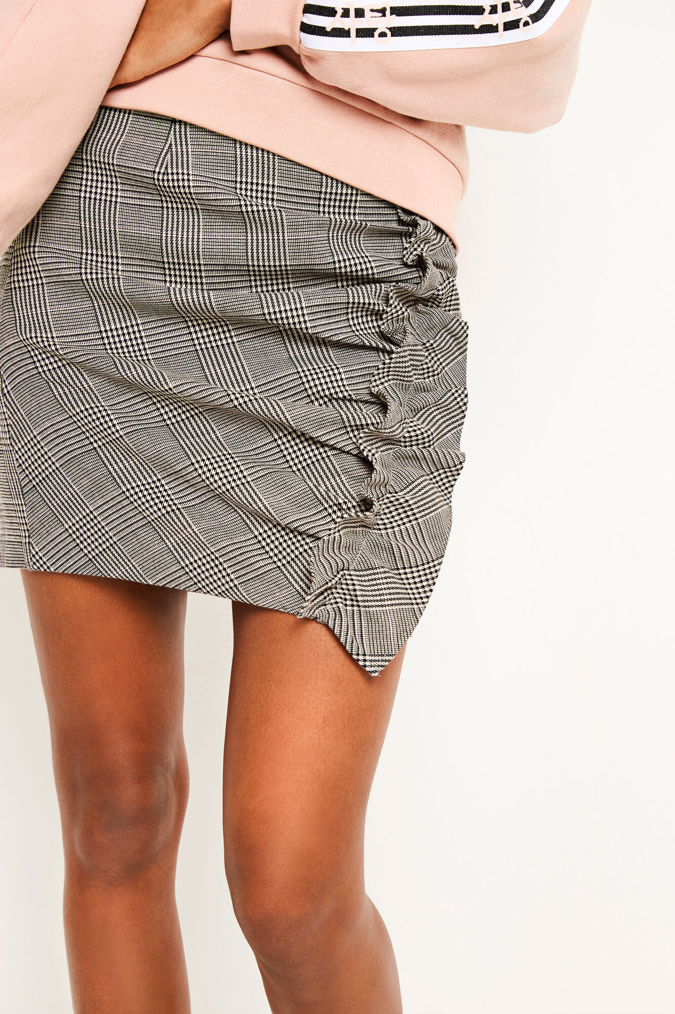 ENTAFFY SKIRT 6506, SATORIAL CHECK
