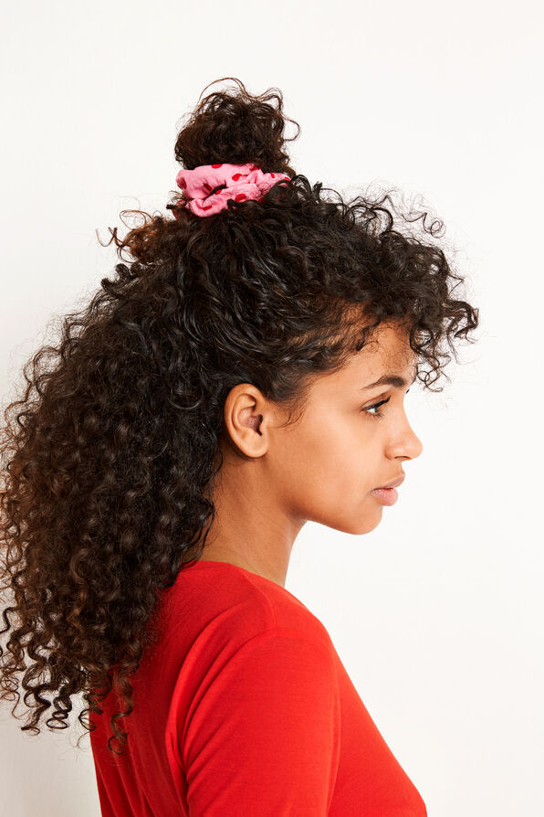 ENWELLY SCRUNCHIE AOP 5901, PINK DOT BIG