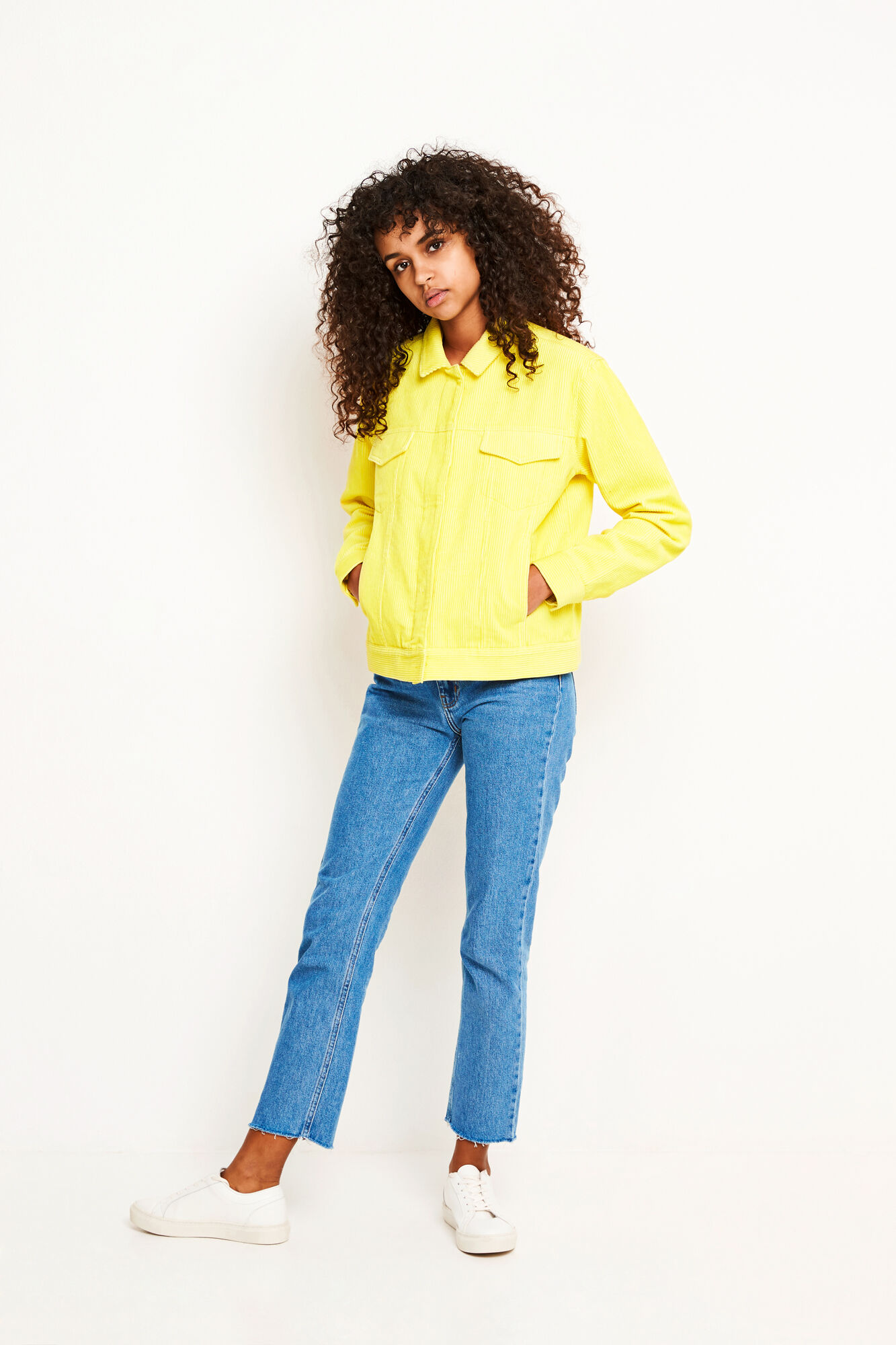 ENSCONE JACKET 6512, YELLOW CREAM