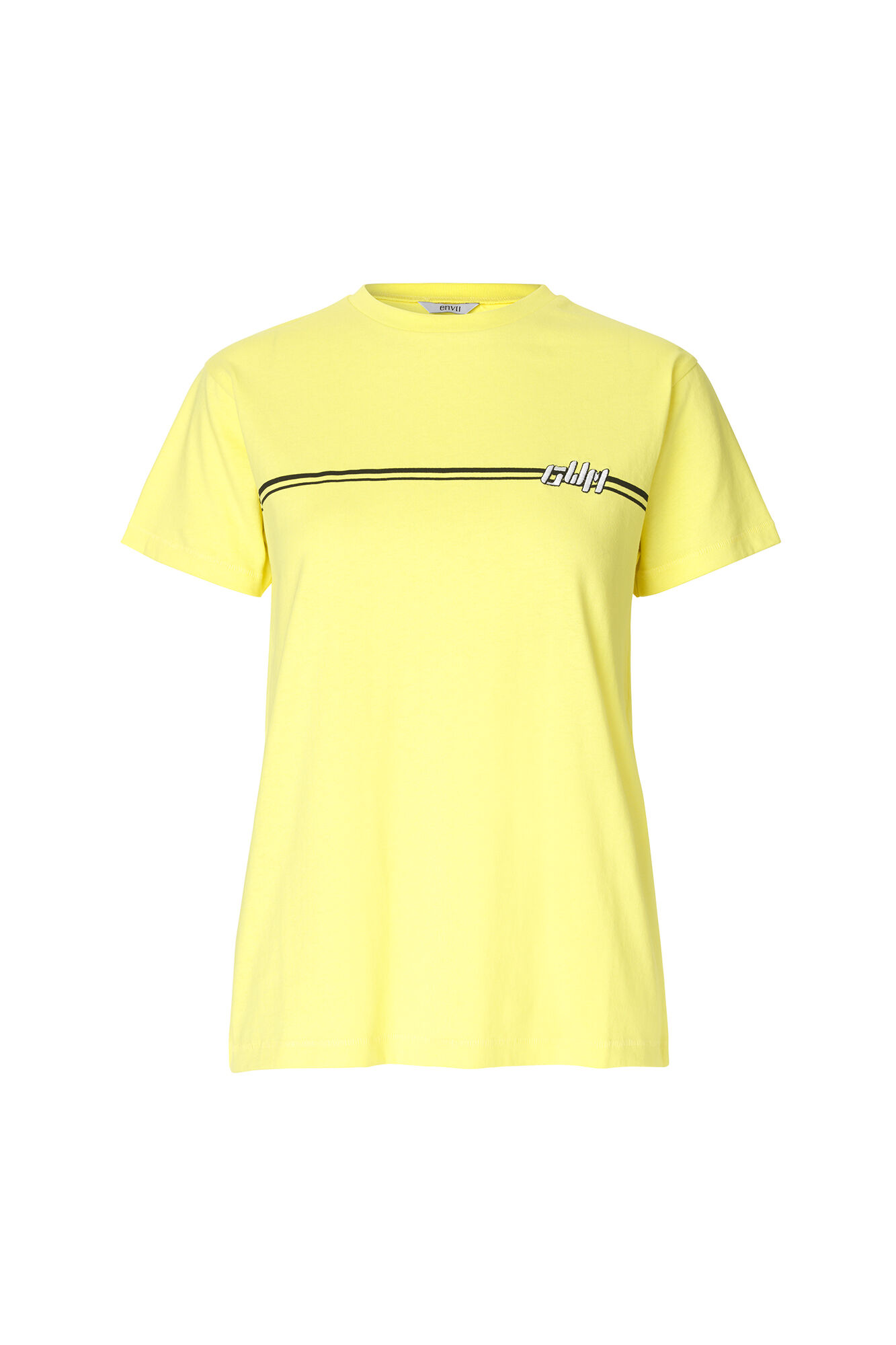 ENMOTO SS TEE CLUB 5901, YELLOW CREAM