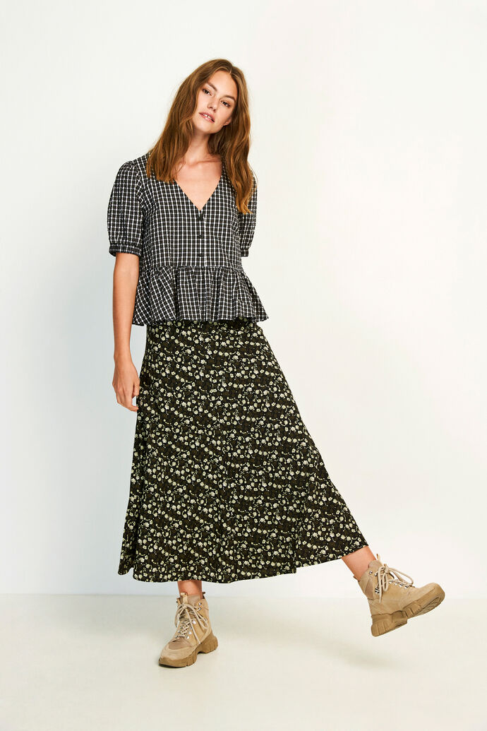ENHAZEL SKIRT AOP 6660, WOODLAND BLOOM