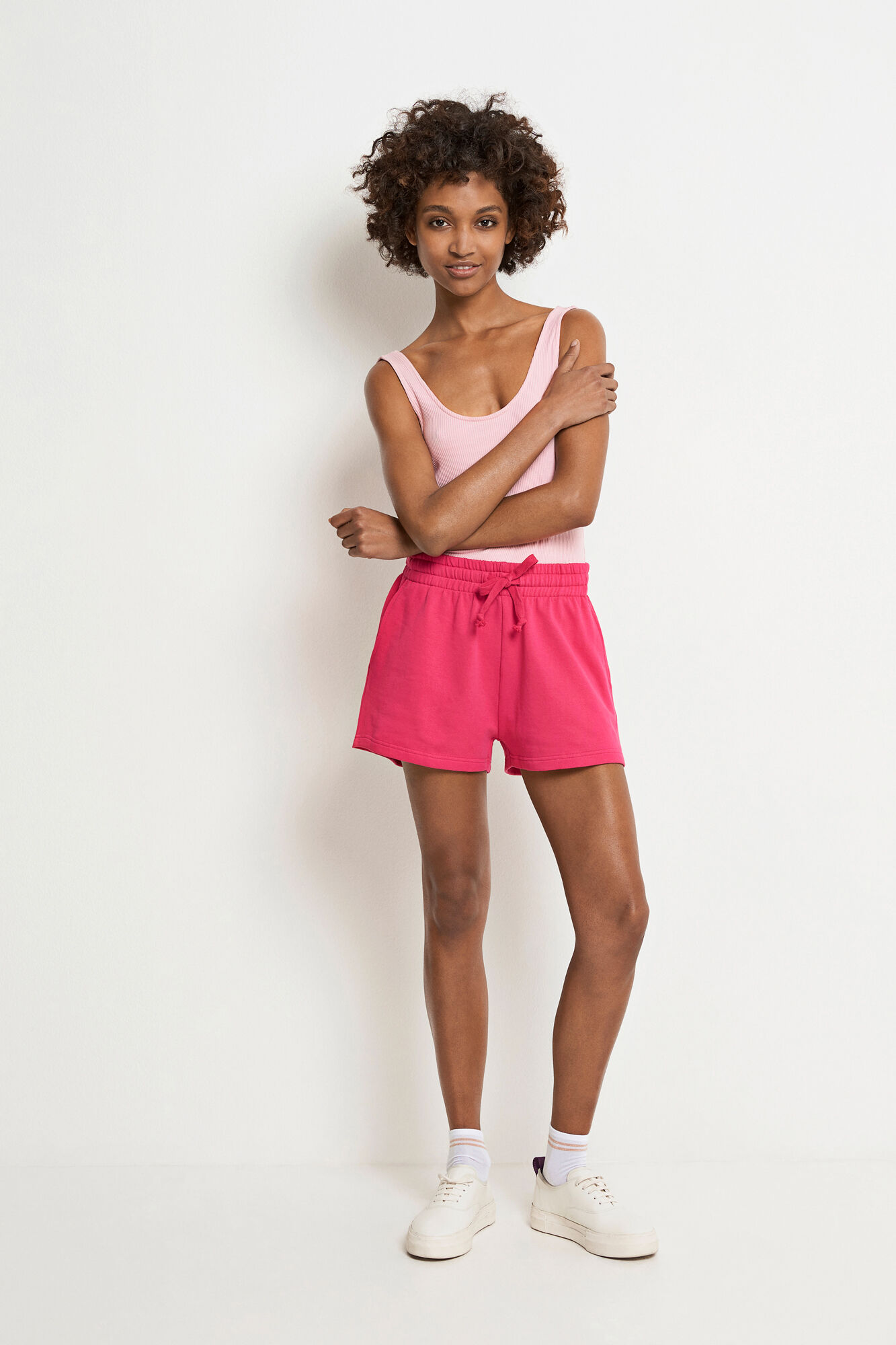 ENWAHINE SHORTS 5913, BEETROOT PURPLE